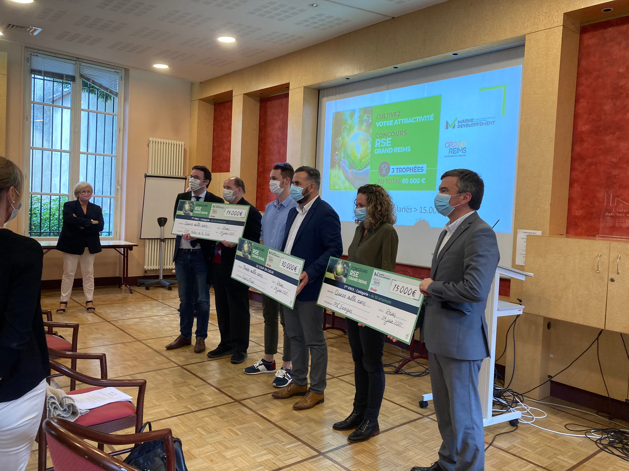 Marne Développement - Concours RSE Grand Reims : Marne Développement s'engage pour un monde durable - concours rse - 1