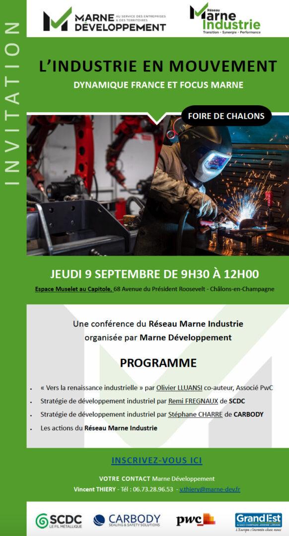 Marne Développement - Foire de Châlons : Marne Développement met l'industrie en lumière ! - Capture décran 2021 08 19 à 15.14.40 - 1